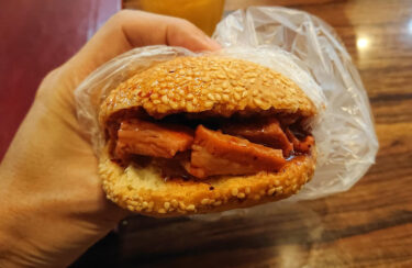 横浜・伊勢佐木町で福建の名物バーガー「光餅」3店で食べ比べ